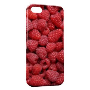 Coque iPhone 5/5S/SE Framboises en Folie