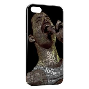 Coque iPhone 5/5S/SE Freddie Mercury Queen