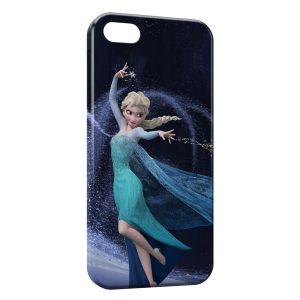 Coque iPhone 5/5S/SE Frozen Queen Elsa