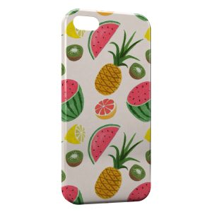 Coque iPhone 5/5S/SE Fruits Style