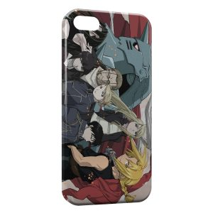 Coque iPhone 5/5S/SE Fullmetal Alchemist Brotherhood 4
