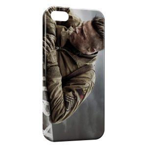 Coque iPhone 5/5S/SE Fury Brad Pitt