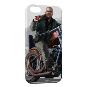 Coque iPhone 5/5S/SE GTA Moto