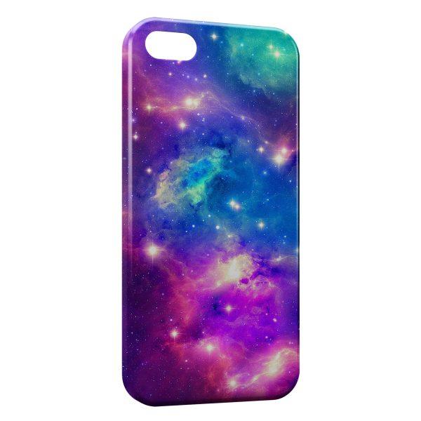 Coque iPhone 5/5S/SE Galaxy