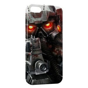 Coque iPhone 5/5S/SE Game Robot