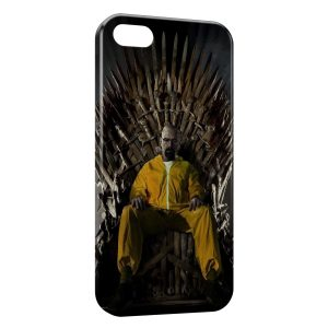 Coque iPhone 5/5S/SE Game of Thrones Breaking Bad Heinsenberg
