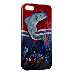 Coque iPhone 5/5S/SE Game of Thrones Family Duty Honor Tully