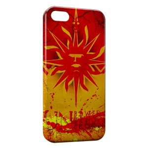 Coque iPhone 5/5S/SE Game of Thrones Un Bowed Bent Broken Martell
