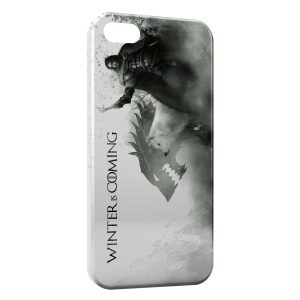 Coque iPhone 5/5S/SE Game of Thrones Winter is Coming
