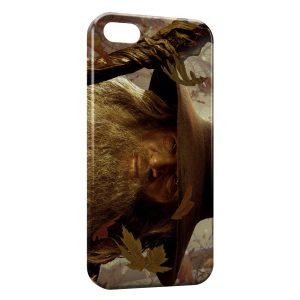 Coque iPhone 5/5S/SE Gandalf Seigneur des Anneaux