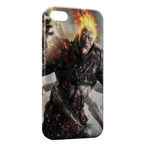 Coque iPhone 5/5S/SE God of War