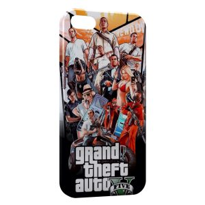 Coque iPhone 5/5S/SE Grand Theft Auto GTA 4