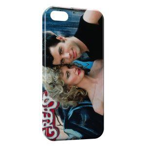 Coque iPhone 5/5S/SE Grease John Travolta Olivia Newton-John