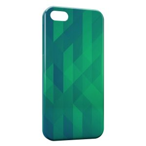 Coque iPhone 5/5S/SE Green 3D Design