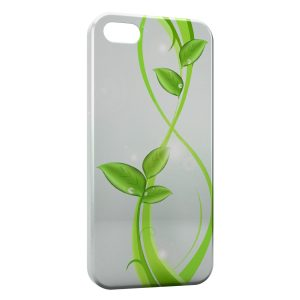 Coque iPhone 5/5S/SE Green Plants
