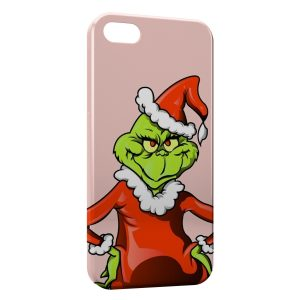 Coque iPhone 5/5S/SE Grinch Perso Animation Art