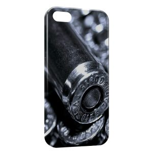 Coque iPhone 5/5S/SE Gun Pistolet Balles