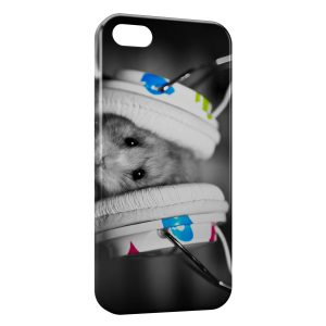 Coque iPhone 5/5S/SE Hamster Music