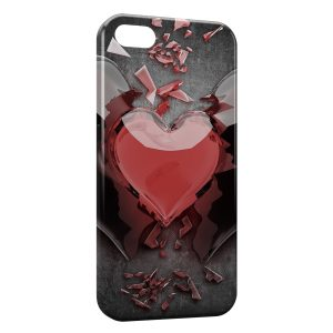 Coque iPhone 5/5S/SE Heart 2