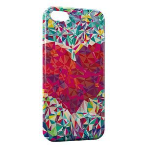 Coque iPhone 5/5S/SE Heart Design