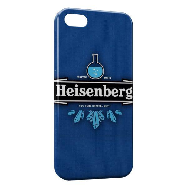 Coque iPhone 5/5S/SE Heinsenberg Breaking Bad Pure Crystal Meth