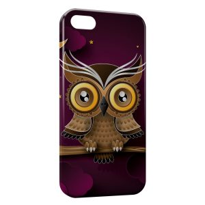 Coque iPhone 5/5S/SE Hiboux Design
