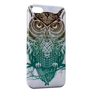 Coque iPhone 5/5S/SE Hiboux Design Art