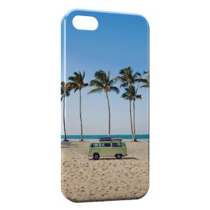 Coque iPhone 5/5S/SE Hippie & Plage 2