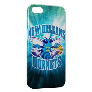 Coque iPhone 5/5S/SE Hornets BasketBall USA