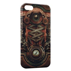 Coque iPhone 5/5S/SE Horror Machine Art