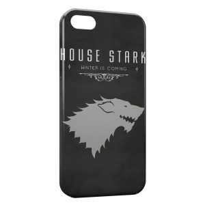 Coque iPhone 5/5S/SE House Stark Winter is Coming Games of Throne