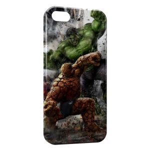 Coque iPhone 5/5S/SE Hulk & La Chose