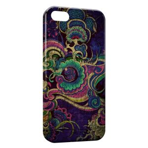 Coque iPhone 5/5S/SE Indian Art 2