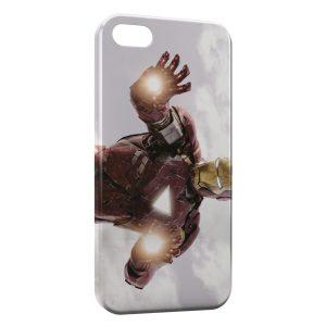 Coque iPhone 5/5S/SE Iron Man FirePower