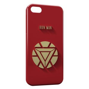 Coque iPhone 5/5S/SE Iron Man Logo