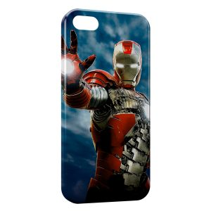 Coque iPhone 5/5S/SE Iron Man in Sky