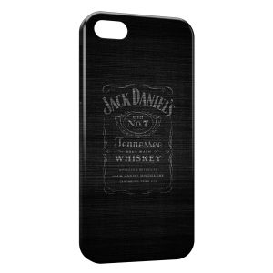 Coque iPhone 5/5S/SE Jack Daniel's Black Art