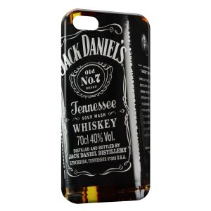 Coque iPhone 5/5S/SE Jack Daniel's Black Design 3