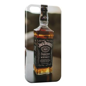 Coque iPhone 5/5S/SE Jack Daniels Brut