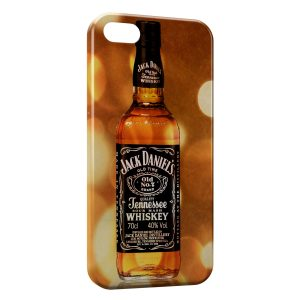 Coque iPhone 5/5S/SE Jack Daniel's Gold 3