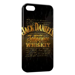 Coque iPhone 5/5S/SE Jack Daniel's Gold Power