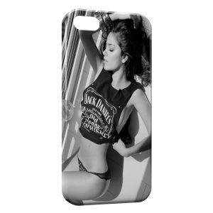 Coque iPhone 5/5S/SE Jack Daniel's Sexy Girly 3