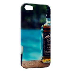 Coque iPhone 5/5S/SE Jack Daniel's Swimming Pool