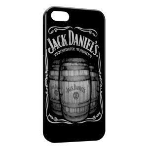 Coque iPhone 5/5S/SE Jack Daniels Tonneaux