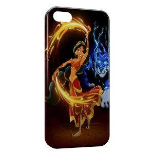 Coque iPhone 5/5S/SE Jasmine Aladdin Art