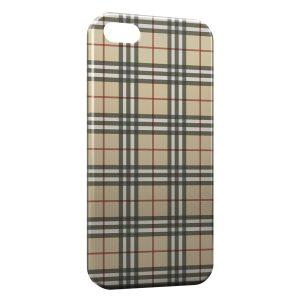 Coque iPhone 5/5S/SE Jaune Texture