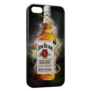 Coque iPhone 5/5S/SE Jim Beam Whisky Art