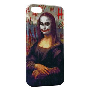 Coque iPhone 5/5S/SE Joconde Joker Batman