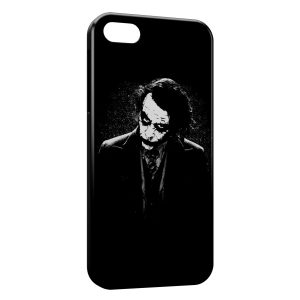 Coque iPhone 5/5S/SE Joker Batman Black