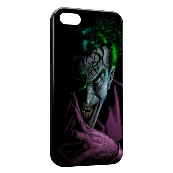 Coque iPhone 5/5S/SE Joker Batman Violet